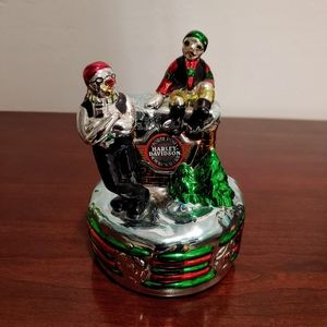 Harley-Davidson Christmas music box